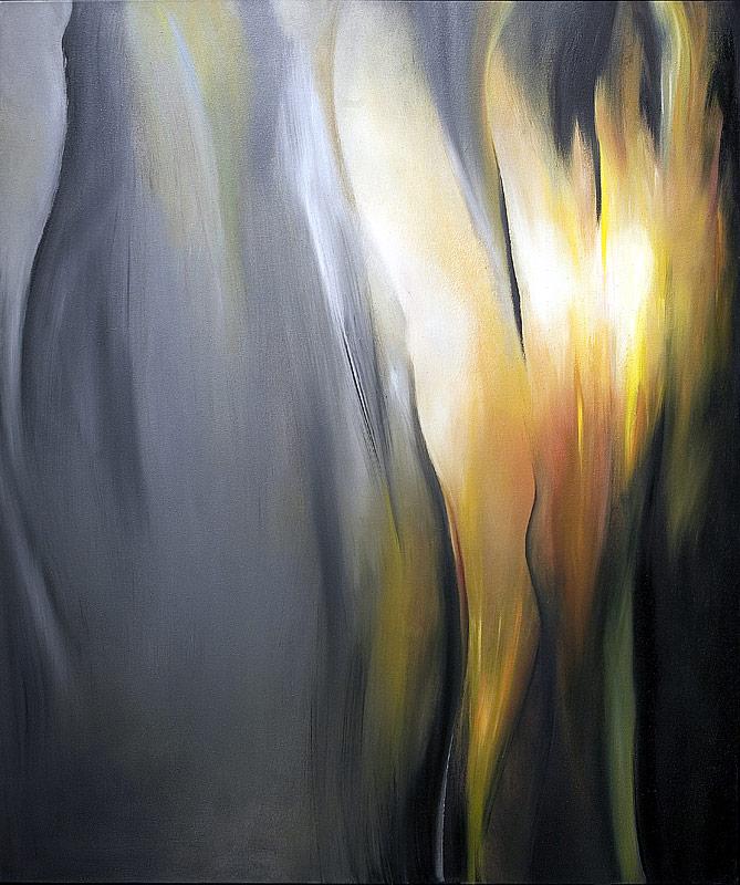 Ich Bin Der Welt Abhanden Gekommen - Mahler - Painting by Paula Arciniega