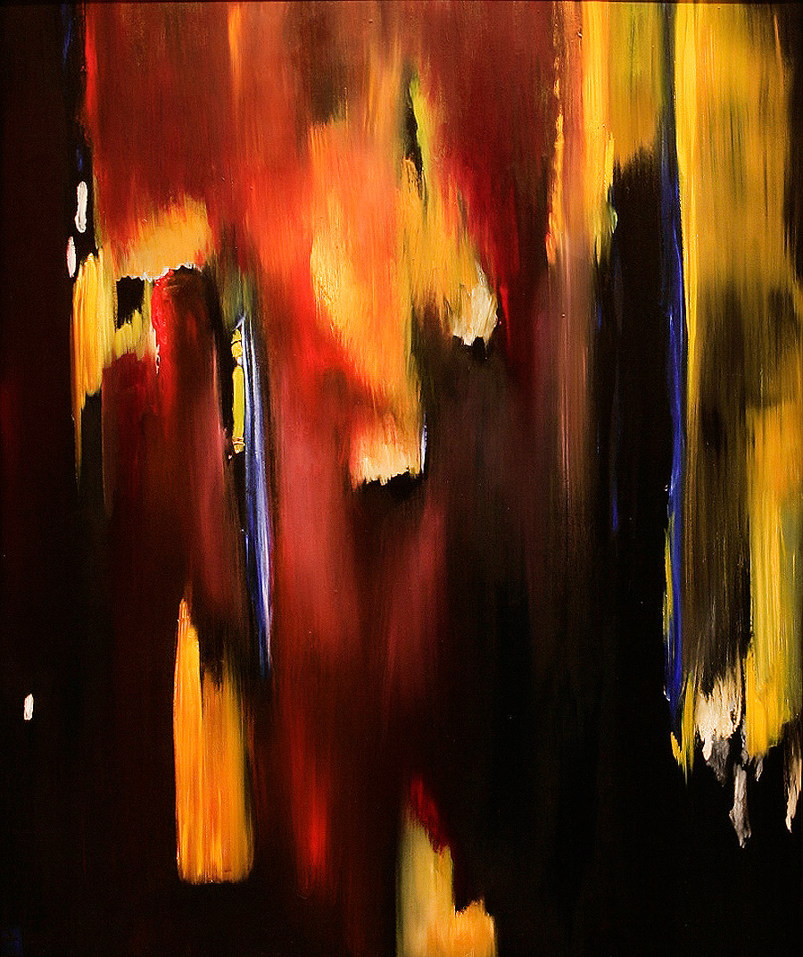 Improvisation 1 on Mahler VI - Painting by Paula Arciniega