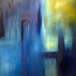 Auferstehn - Mahler II - Painting by Paula Arciniega
