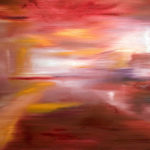 Urlicht - Mahler II - Painting by Paula Arciniega