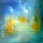 Mahler IV - Painting by Paula Arciniega