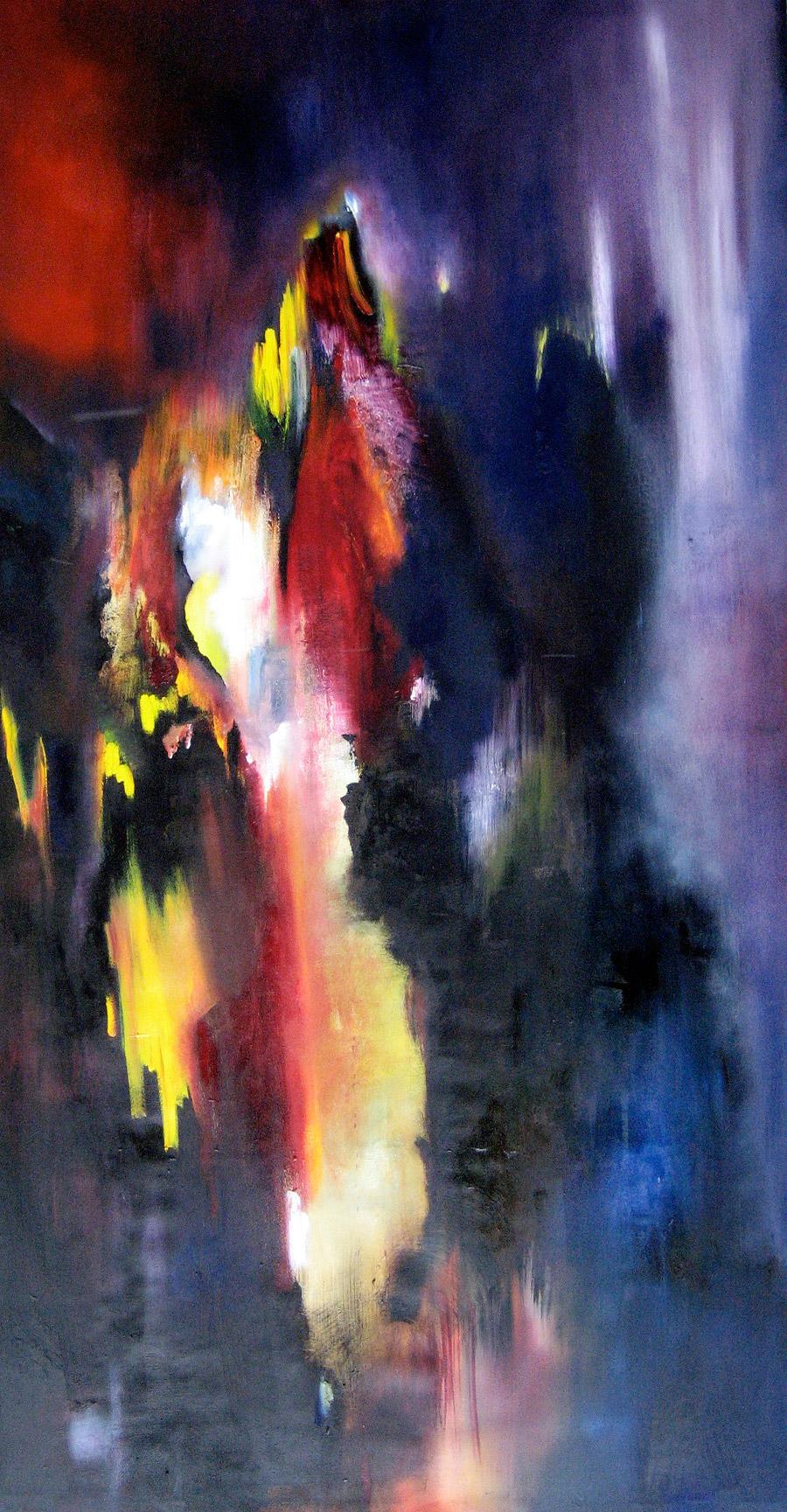 Mahler VI - Painting by Paula Arciniega