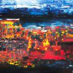 September - Painting by Paula Arciniega